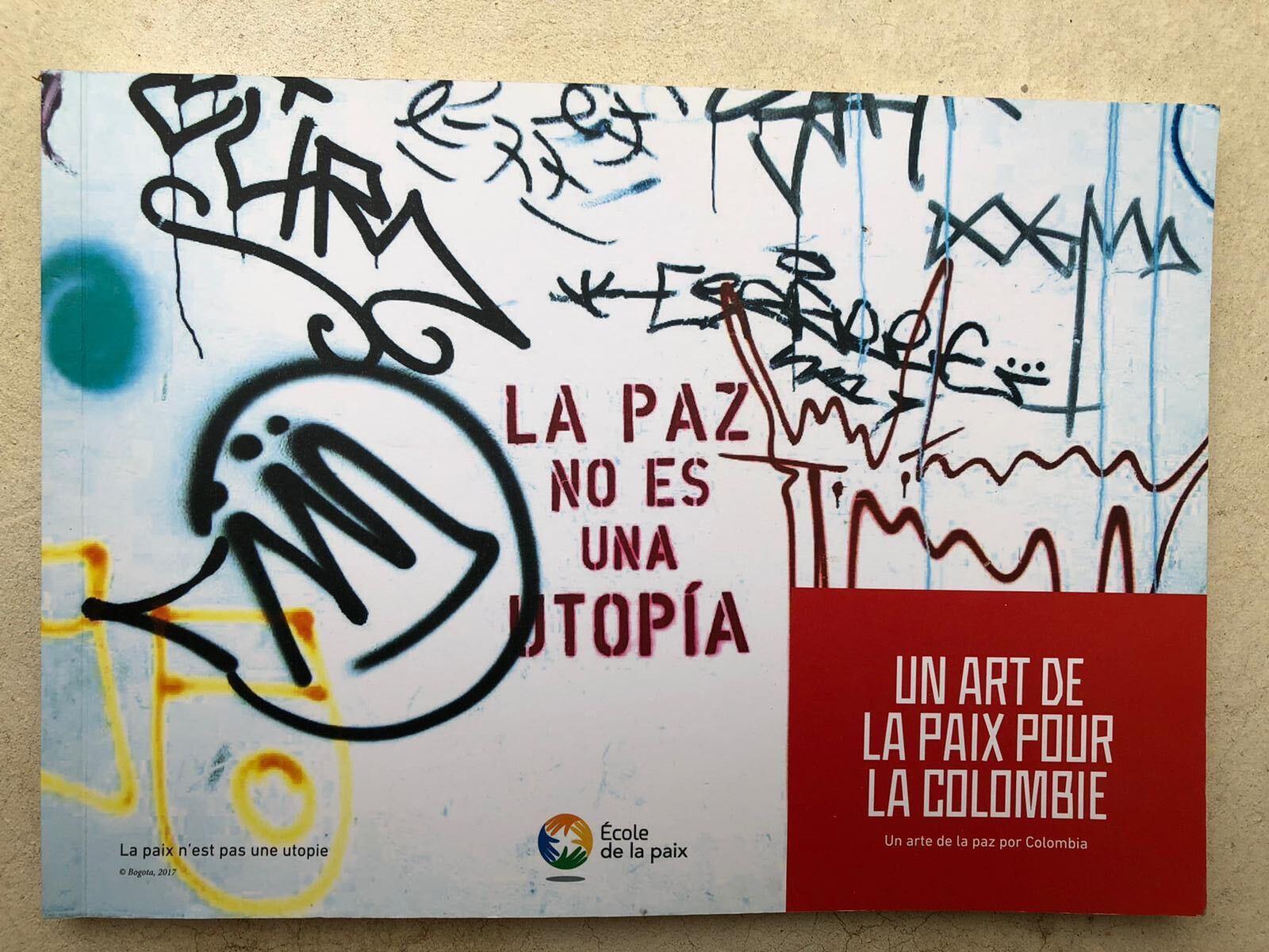 #Vendredi lecture – Un art de la paix pour la Colombie, École de la paix