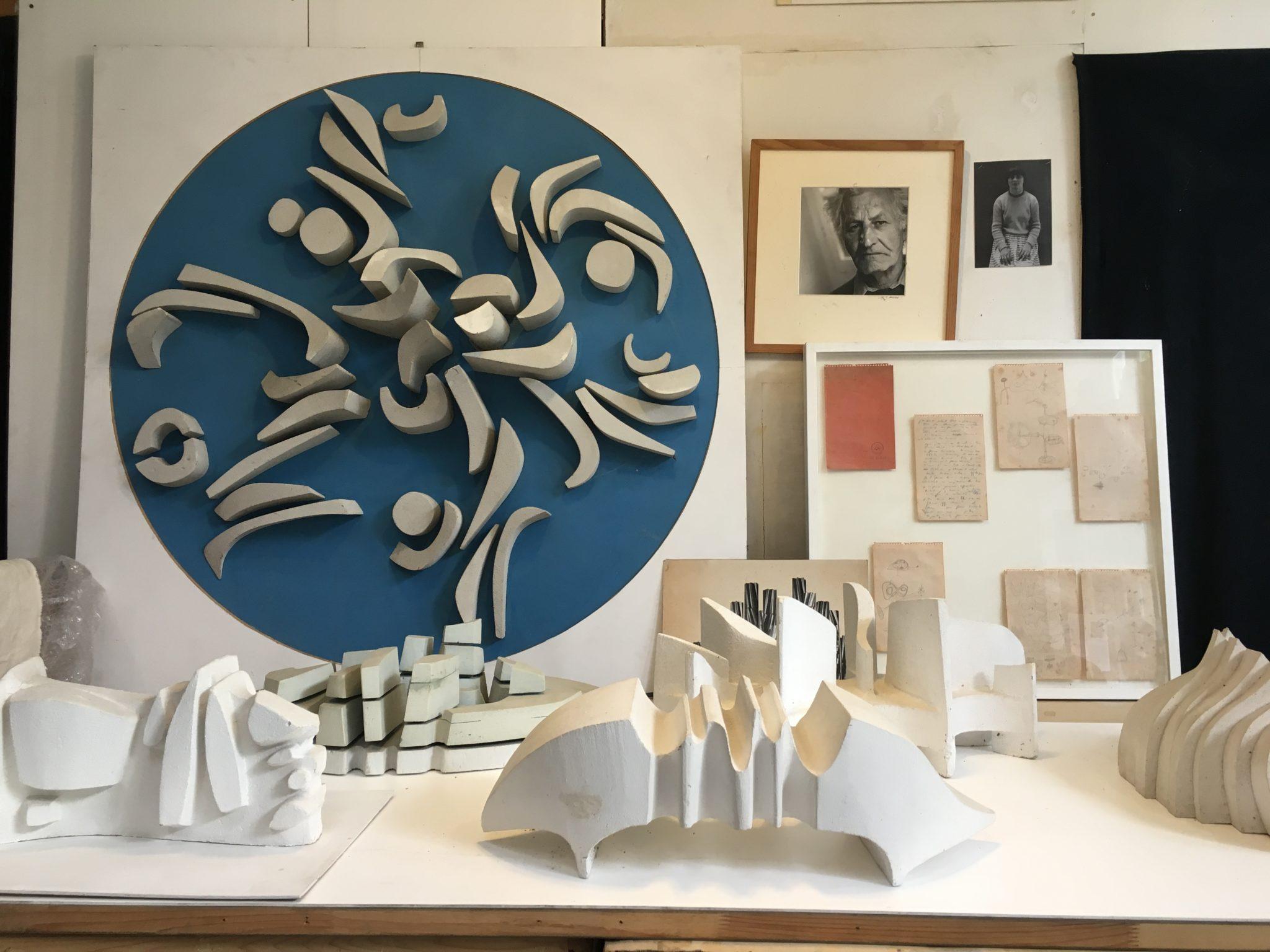 L'oeuvre monumentale et le 1% artistique – Projet éducatif autour de l'oeuvre d'André Borderie au Lycée Amyot d'Inville